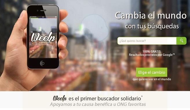 Dos jóvenes emprendedores españoles crean @Weelp_com, el primer buscador solidario de habla hispana