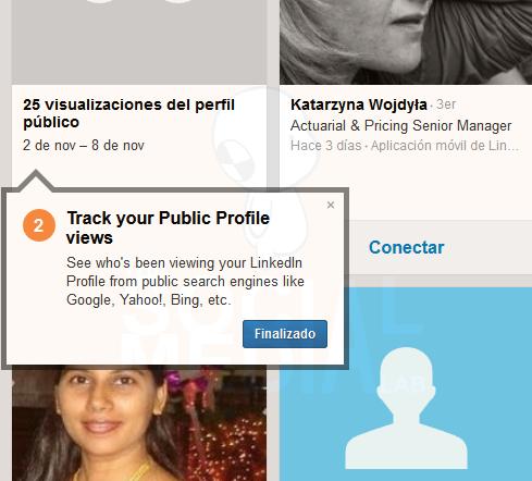 El nuevo 'Quién ha visto tu perfil' de Linkedin | Primeros pasos
