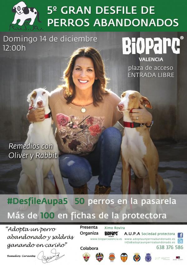Redes sociales, @Bioparc y @AUPA_: #DesfileAUPA5 (21 de diciembre)