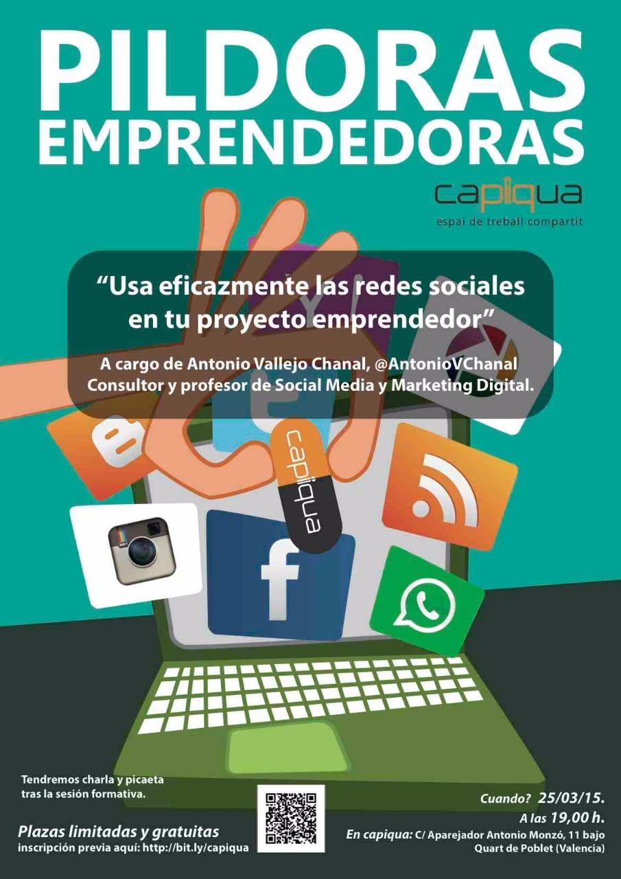 Usa eficazmente las redes sociales en tu proyecto emprendedor