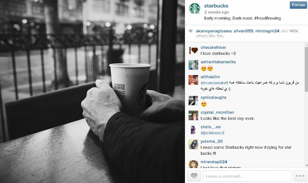 Cuéntame una historia en fotos en Instagram