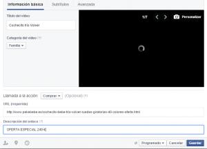 COMO CREAR UNA PRESENTACION DE VIDEO PARA FACEBOOK PASO 7