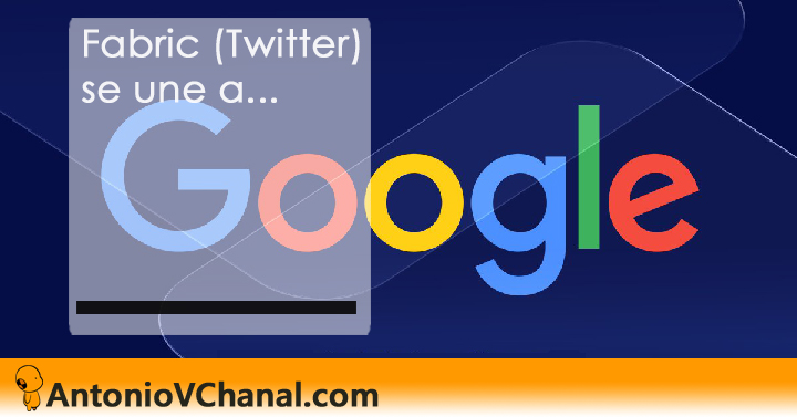 Twitter lo anuncia mediante un email a los desarrolladores, y Google le da la bienvenida en un artículo de Francis Ma: ¡Bienvenido a Google!