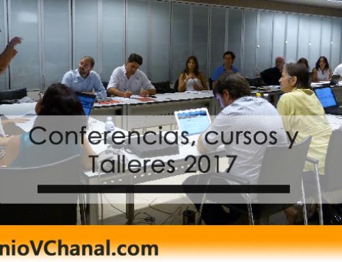 Conferencias, cursos y Talleres 2017 con Antonio Vallejo Chanal