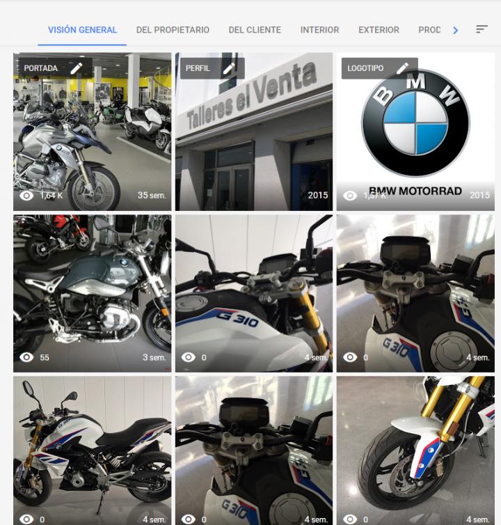 gestionar y administrar las fotos de tu negocio en google my business